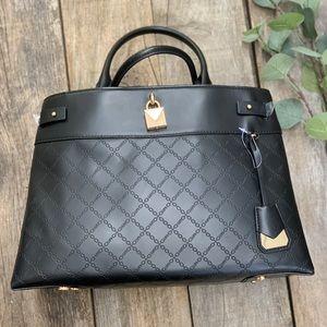 NEW Michael Kors Black Gramercy Leather Purse